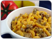 Whole Grain Cheeseburger Mac
