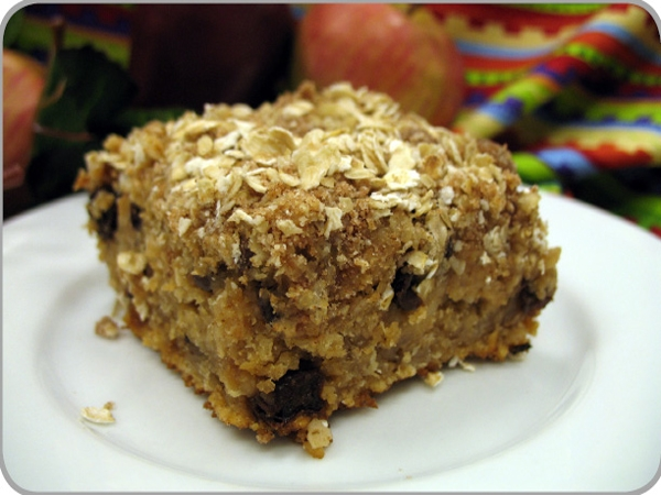 Applesauce Oatmeal Squares